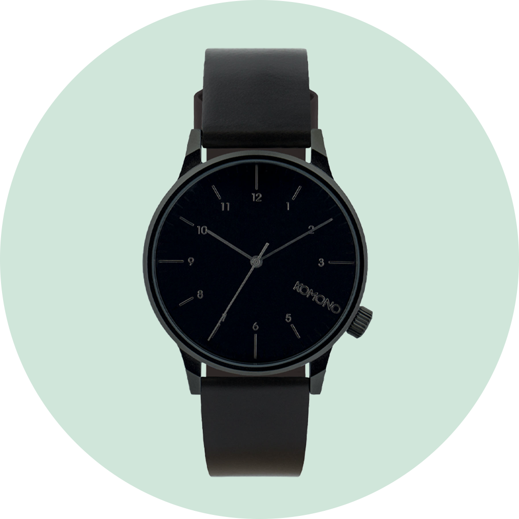 Komono Winston Regal Watch - Black