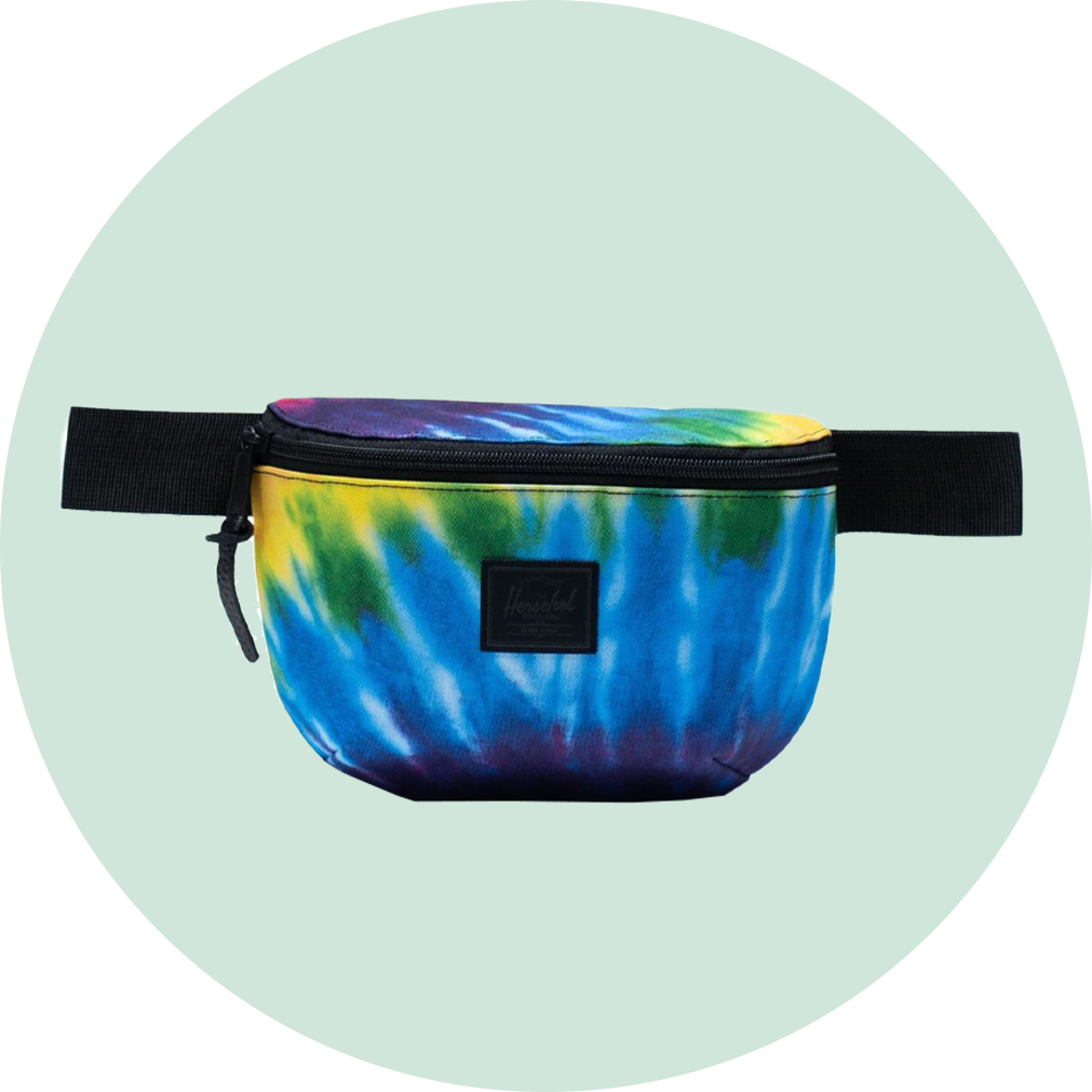 Herschel Fourteen Hip Pack - Rainbow Tie Dye