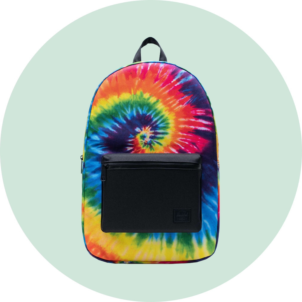 Herschel Packable Daypack - Rainbow Tie Dye