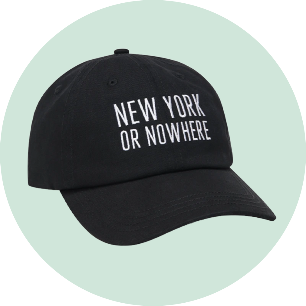 "Knowlita New York or Nowhere ""Classic"" Dad Hat"