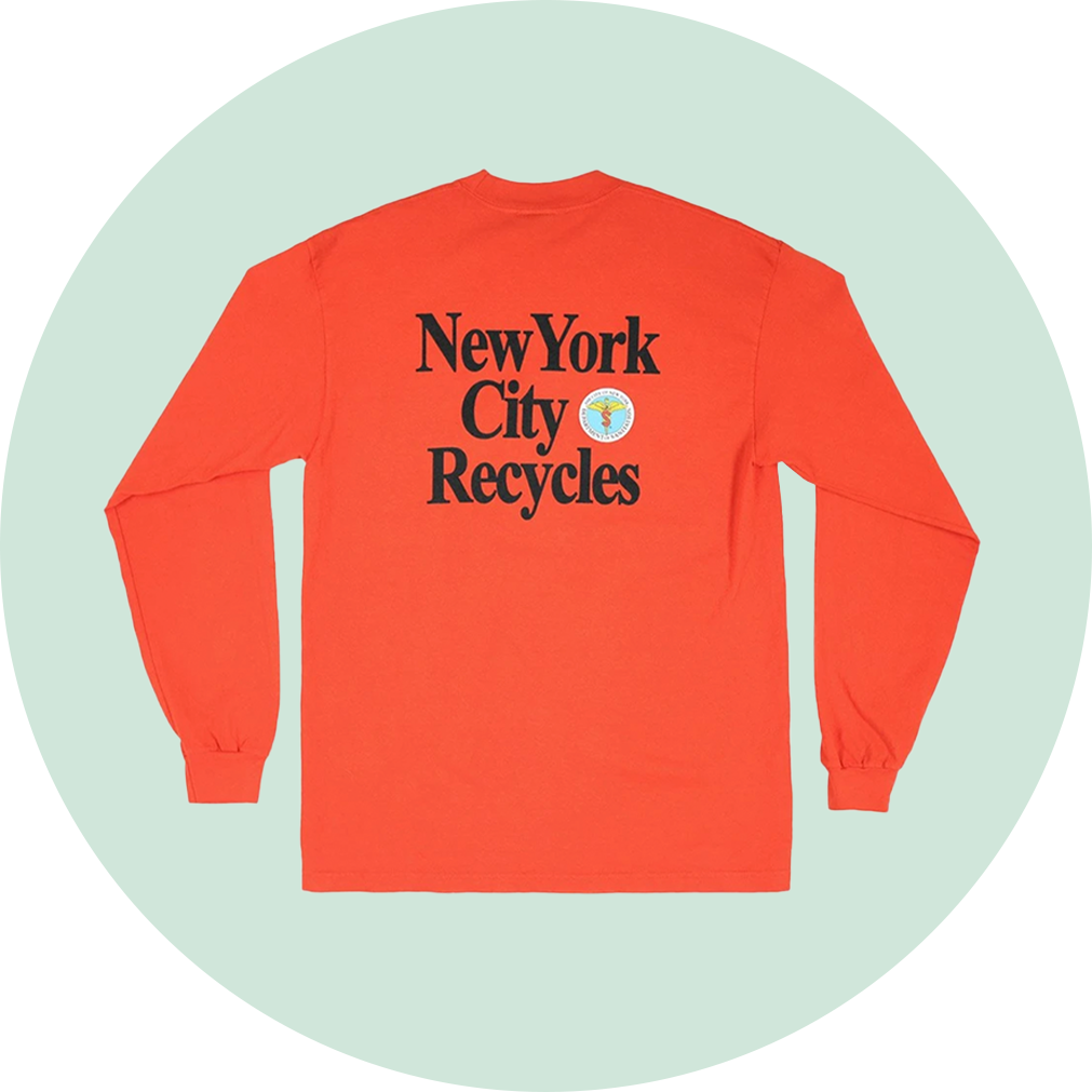 Only NY NYC Recycles Long Sleeve Shirt