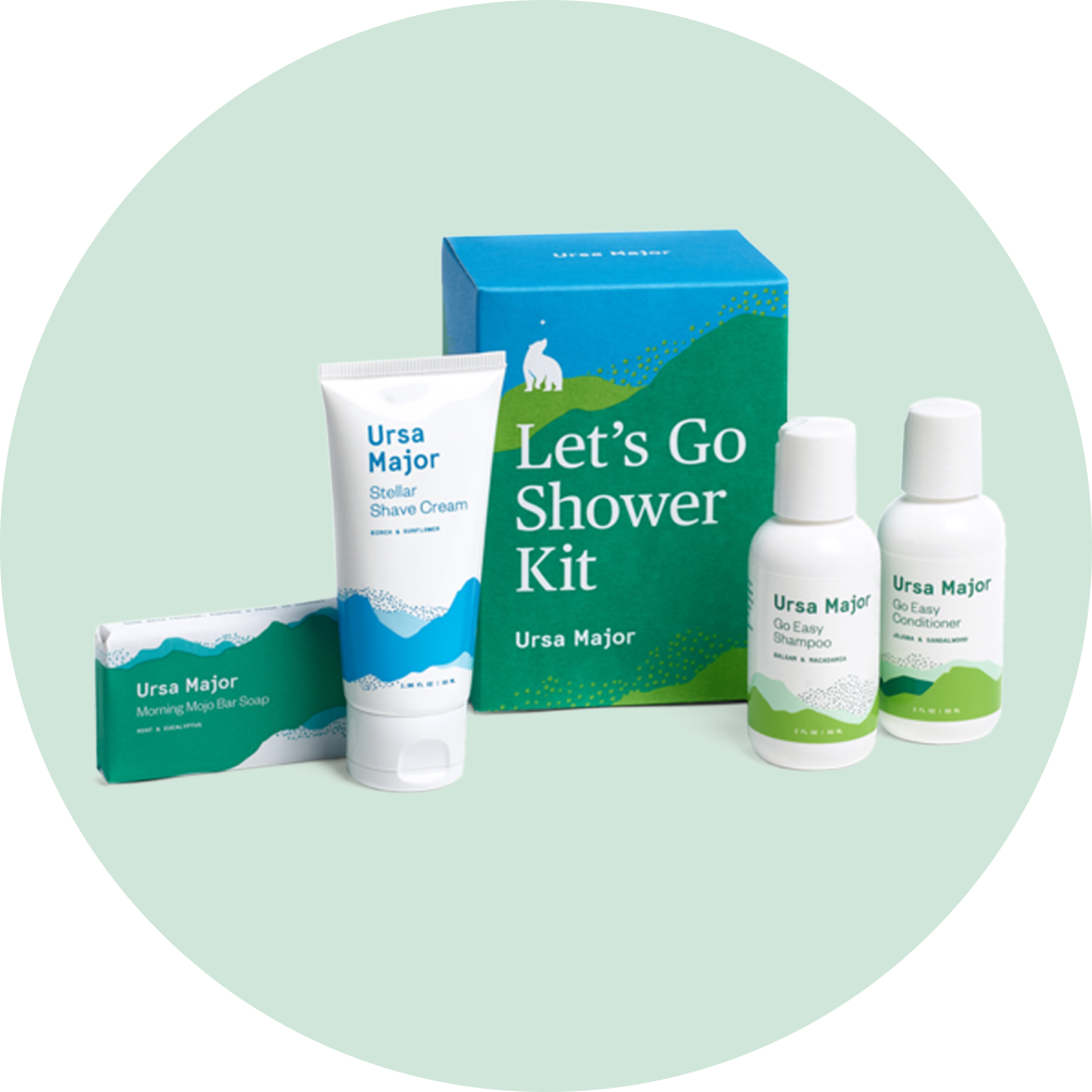 Ursa Major Let's Go Shower Kit