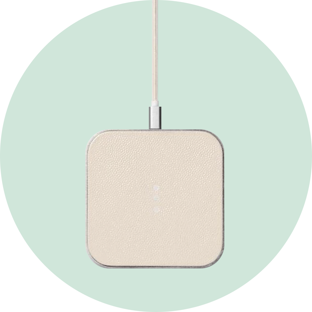 Courant Catch 1 Wireless Charger - White