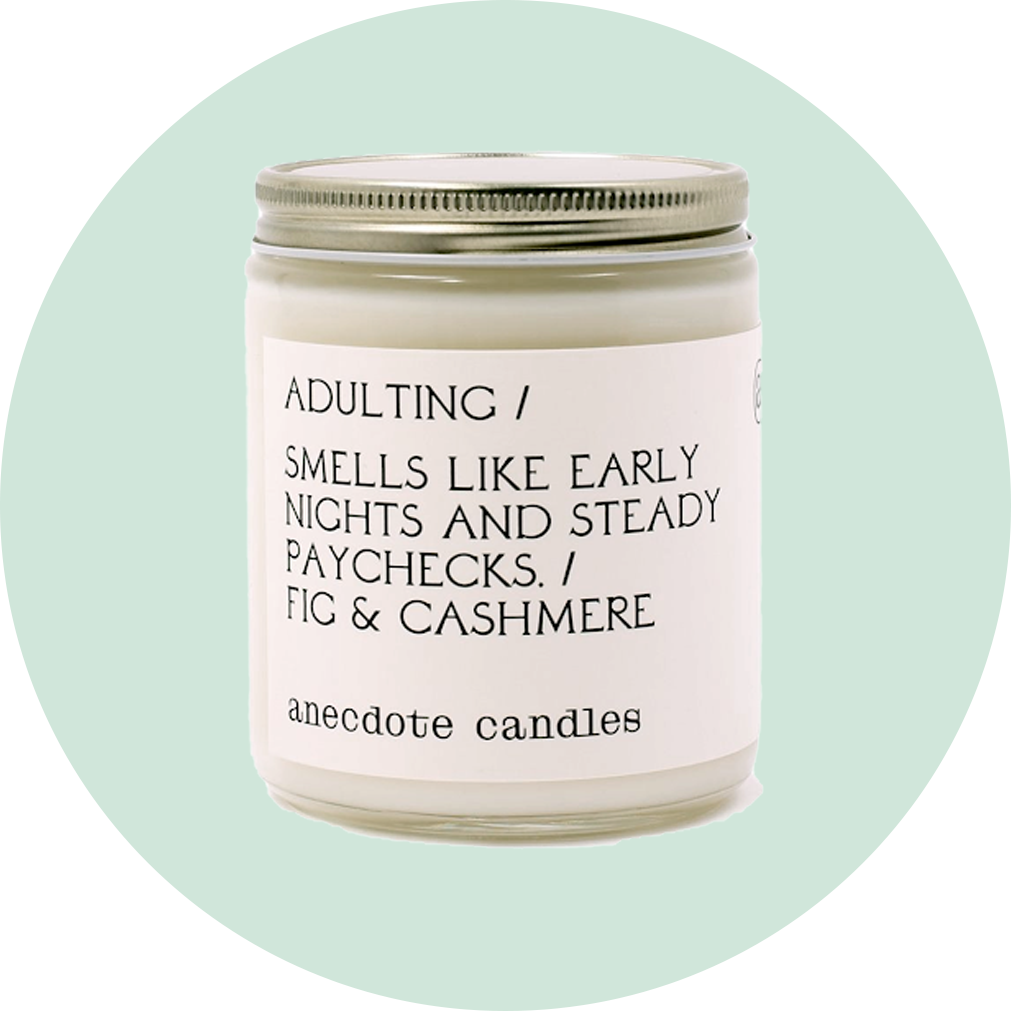 Anecdote Adulting Candle
