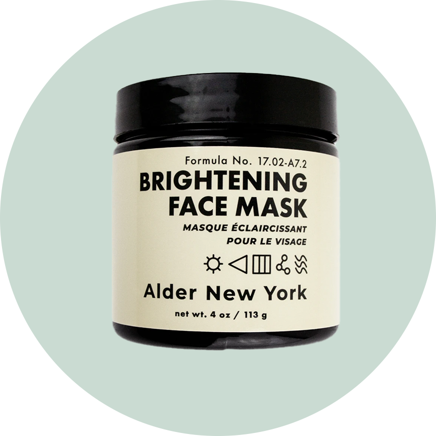 Alder Brightening Face Mask