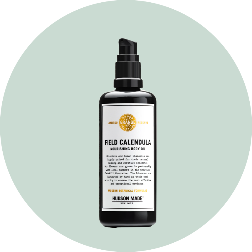 Hudson Made Field Calendula Body Oil