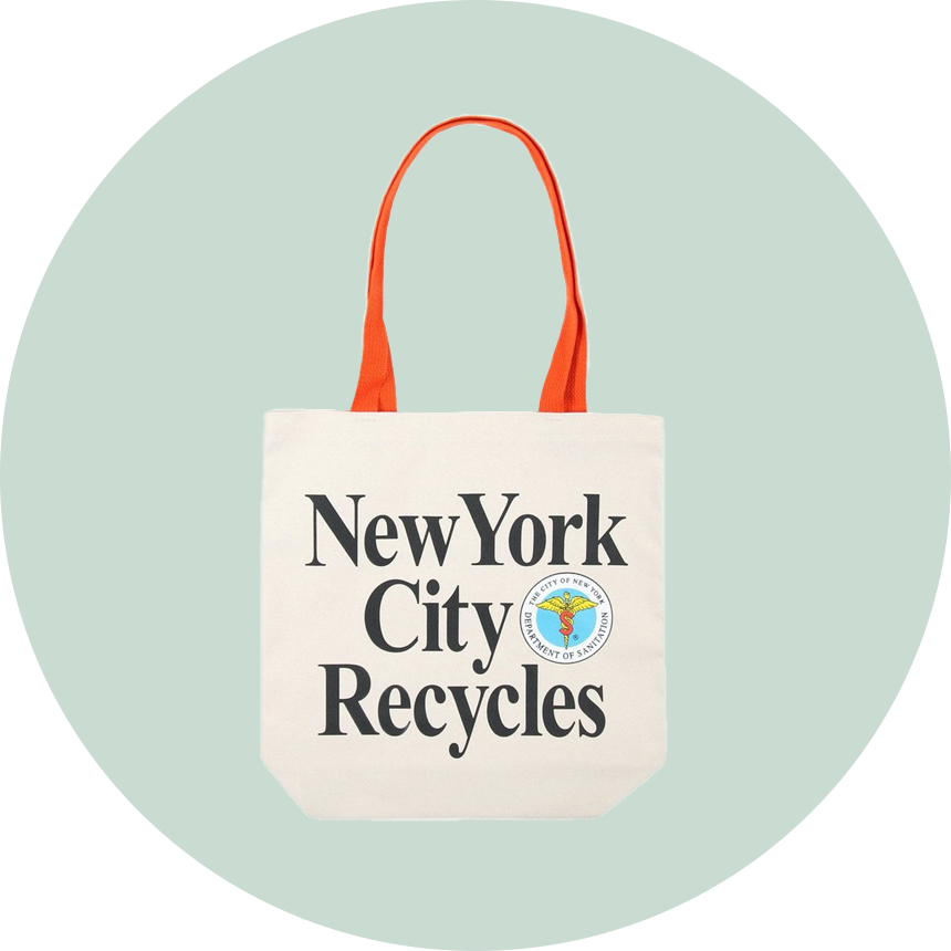 Only NY DSNY Recycles Tote