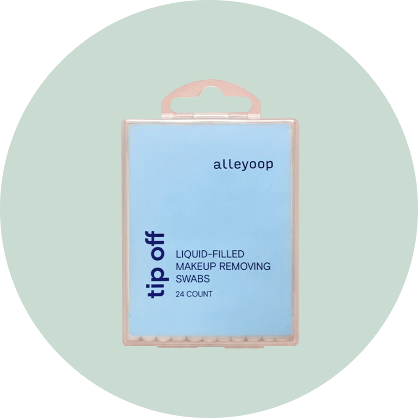 Alleyoop Tip-Off Makeup Removing Swabs