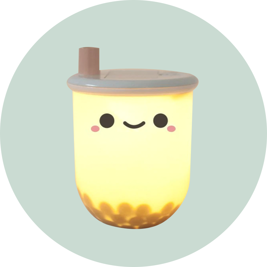 Smoko Pearl Boba Milk Tea Ambient Light