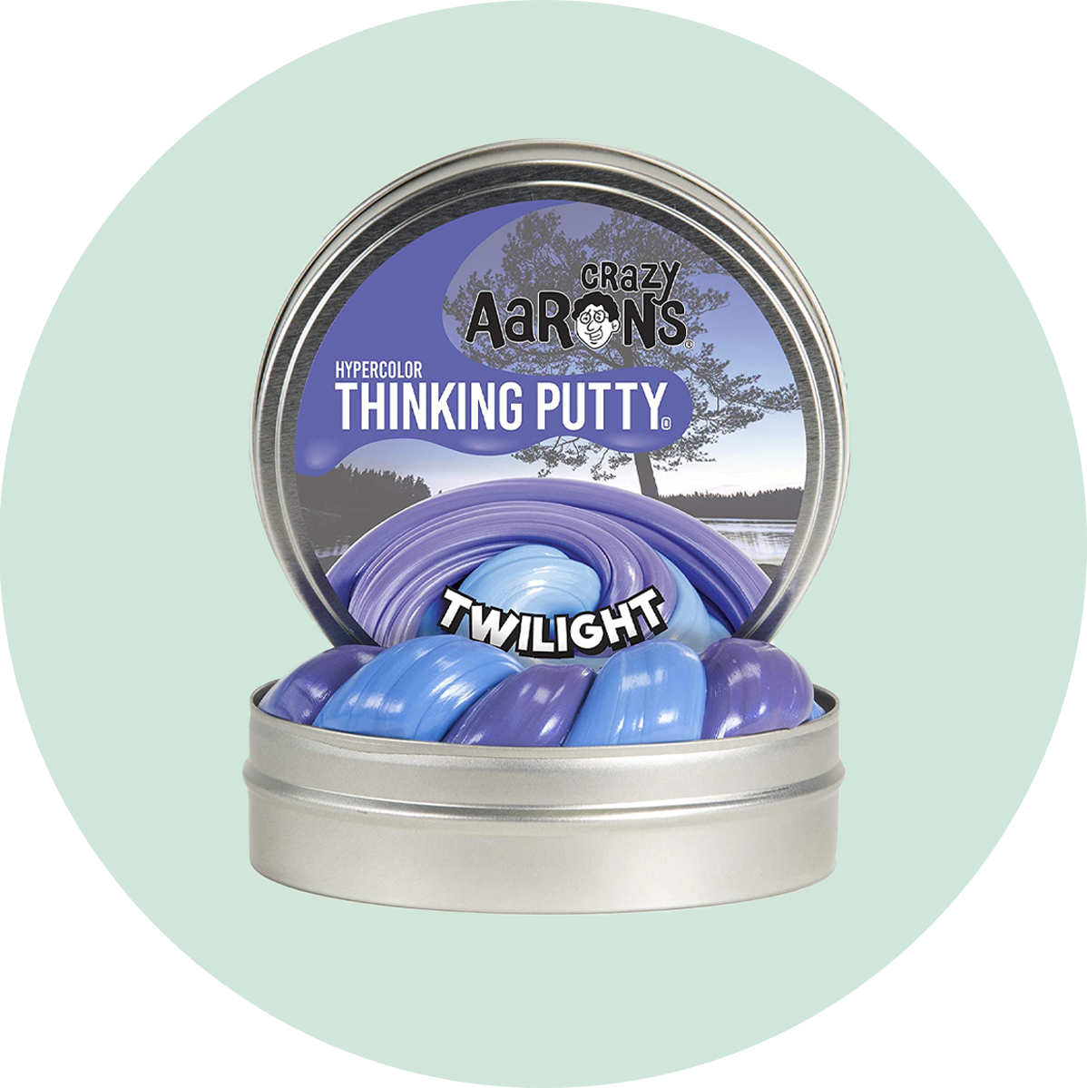 Crazy Aaron's Mini Hypercolor Thinking Putty