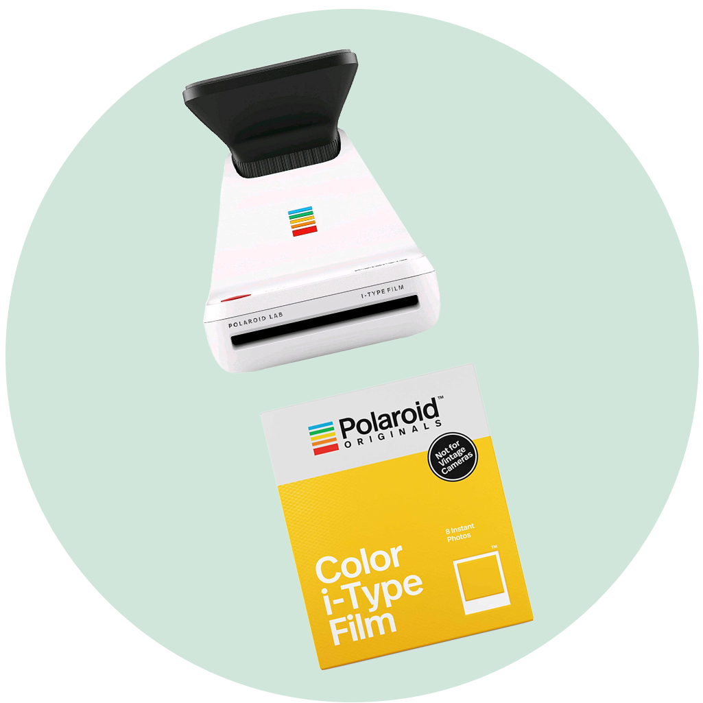 Polaroid Lab & Film Bundle