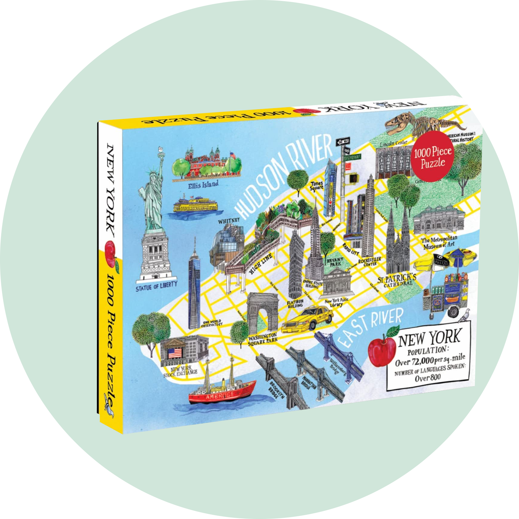 Galison New York 1000 Piece Puzzle