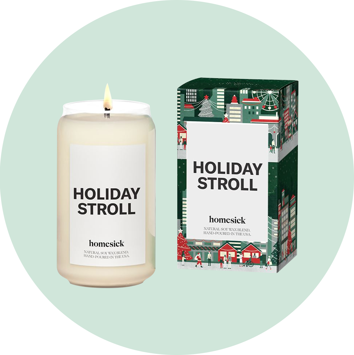 Homesick Holiday Stroll Candle