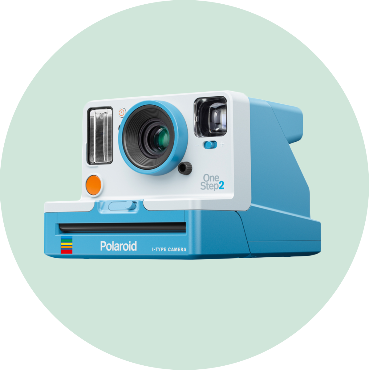 Polaroid Summer Blue One Step 2 Camera