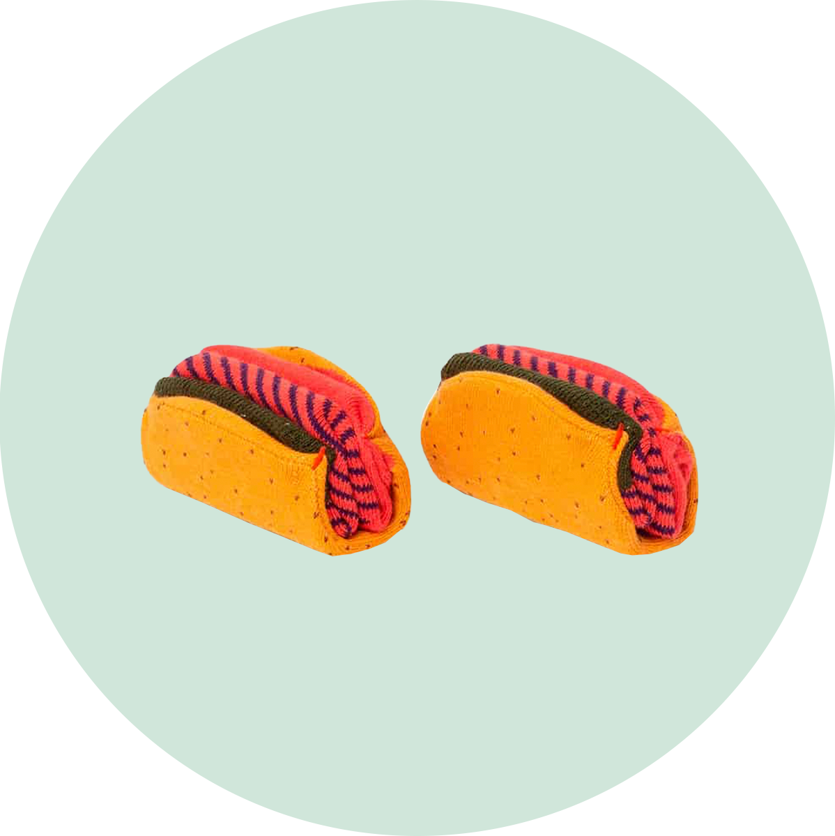DOIY Design Taco Socks
