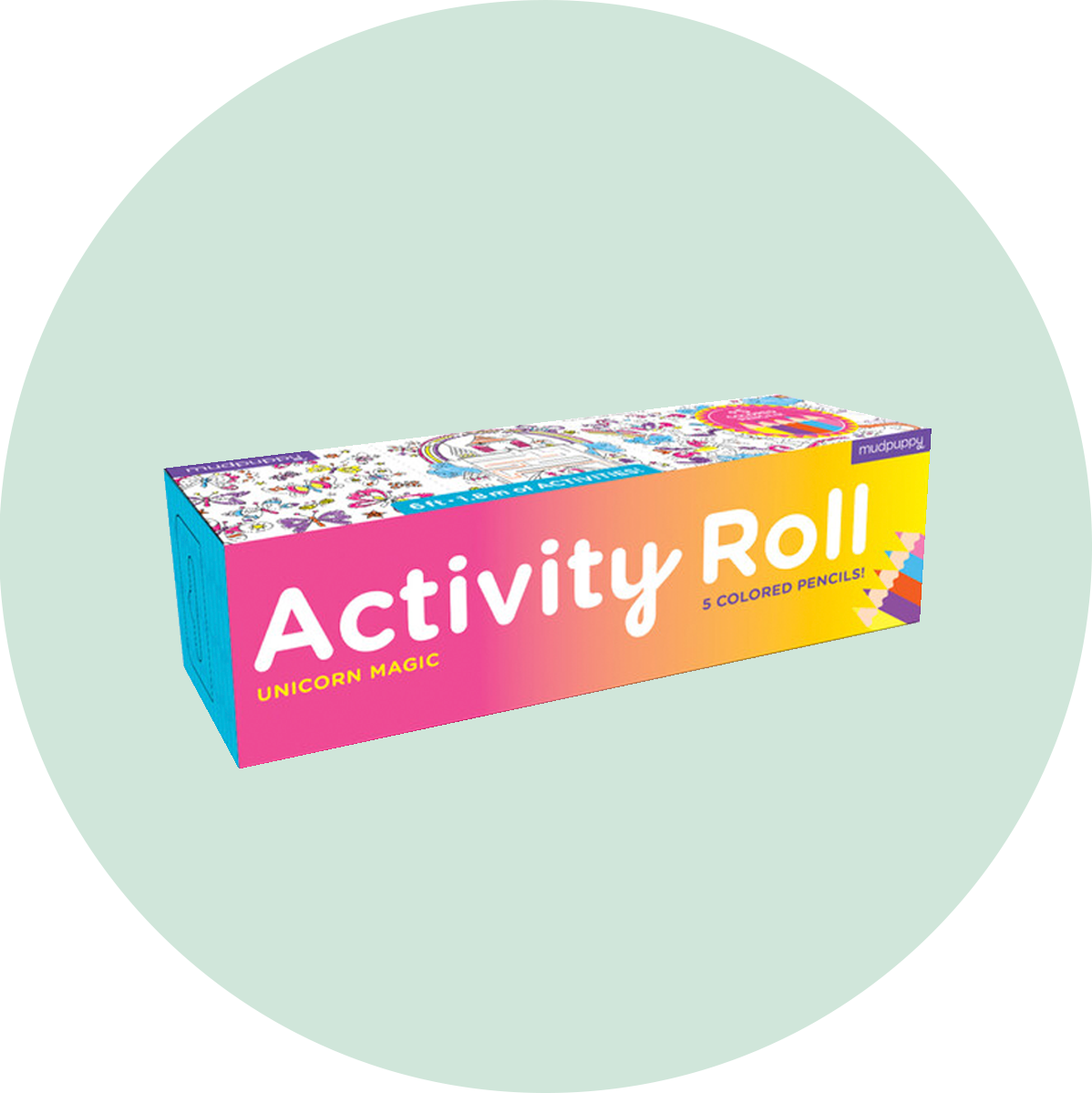 Chronicle Books Activity Roll Unicorn Magic