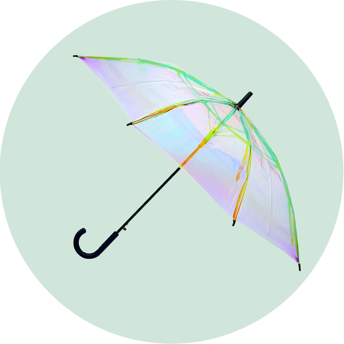 FCTRY Holographic Umbrella