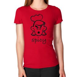 Spicy Gal Women's T-Shirt Red T and Biscuits