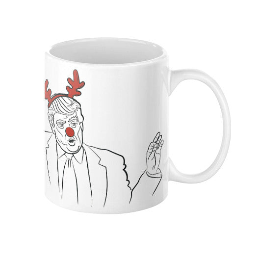 Trump Christmas Coffee Mug  T and Biscuits