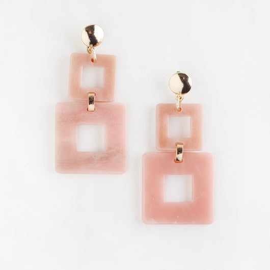 Toucan Earrings - Pink