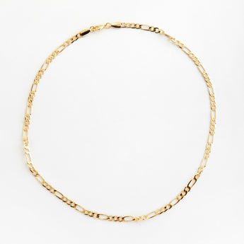 Reliquia boyfriend necklace figaro gold