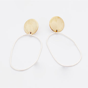 Jika Dangle drop Studs