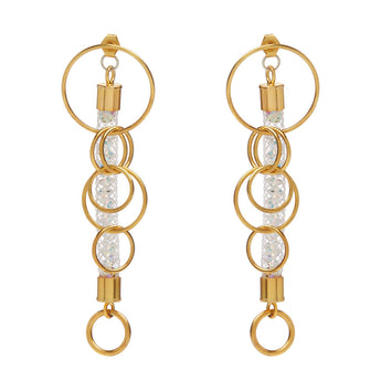 Loop Earrings Mesh