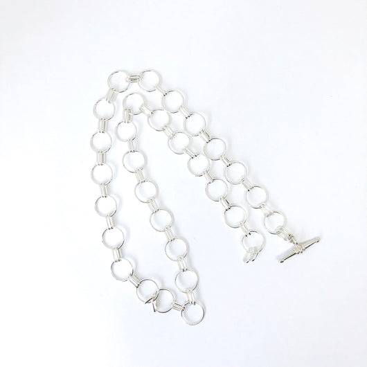 Tilly Rosie Choker silver