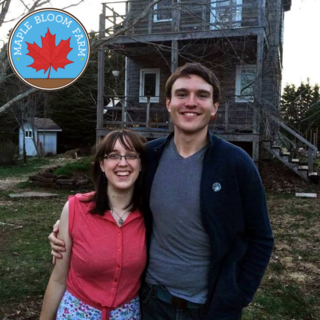 CSA Community Supported Agriculture, Jordan MacPhee and Catherine Bailey, Maple Bloom Farm