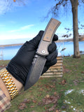 Chaves Customized Ultramar Redencion Street: Tanto, PVD Finish, Bronze Anodized Inlay