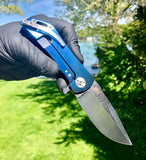 DDR Dominator: Anodized Blue Ti