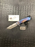 Michael Zieba S4 Purple Angry Bird with Bead and Extra Clip MZ0990