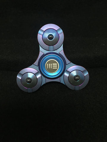 WE S02 Titanium Fidget Spinner: Purple