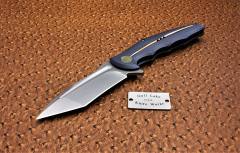 WE Knife 608J Blue