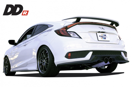 GReddy DD-R Catback Exhaust 2017+ Honda Civic Si Coupe