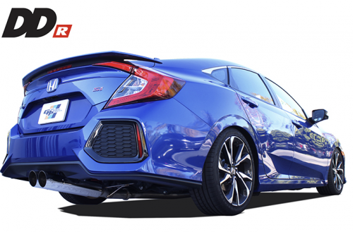 GReddy DD-R Catback Exhaust 2017+ Honda Civic Si Sedan