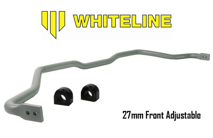 Whiteline 27mm Heavy Duty Blade Adjustable Front Sway Bar 2016+ Honda Civic