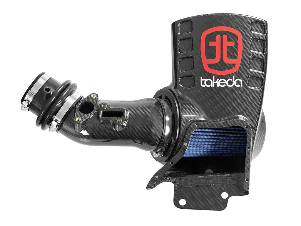 aFe POWER Takeda Black Series Momentum Carbon Fiber Cold Air Intake System 17+ Honda Civic Type R