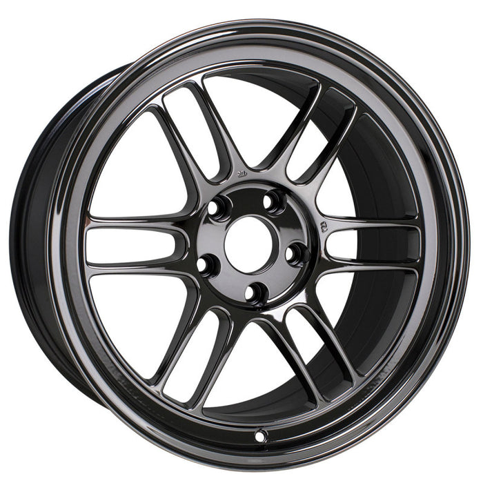 Enkei RPF1 5x114.3 18x9.5 +38 Offset 73mm Bore - Black Chrome