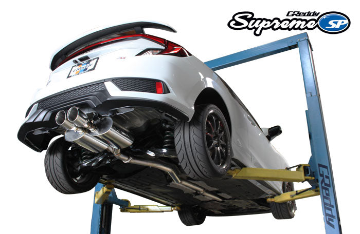 GReddy Supreme SP Exhaust 2017+ Honda Civic Si Coupe