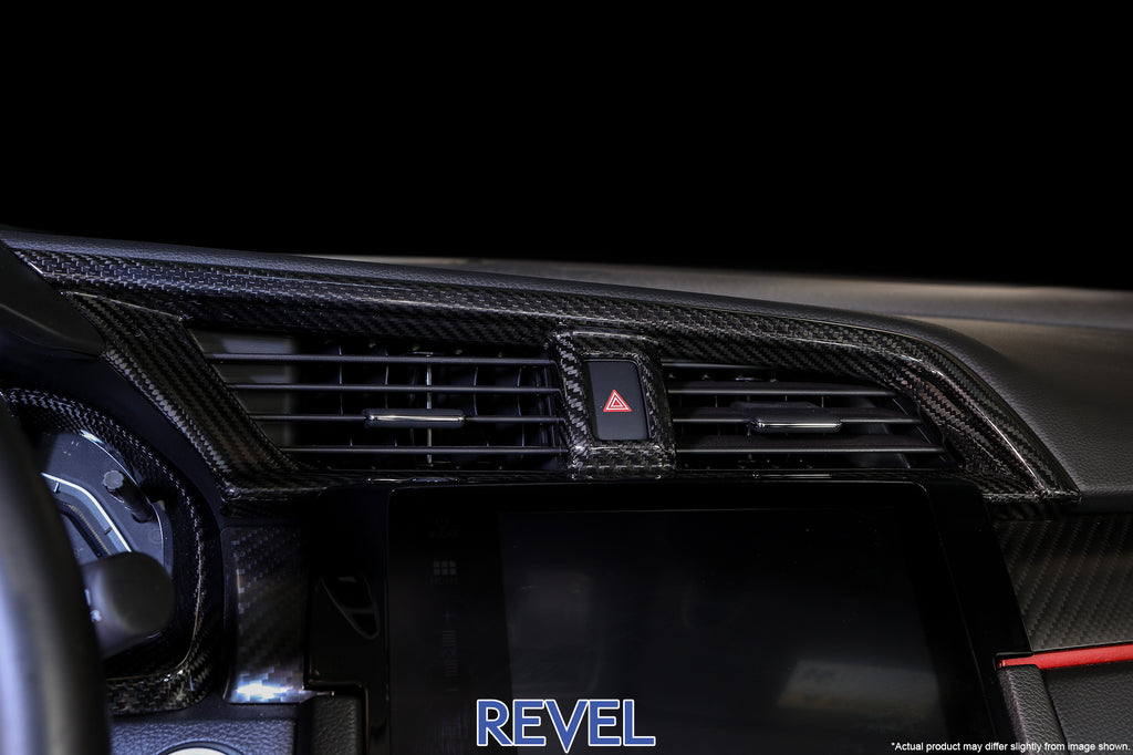 REVEL GT Dry Carbon A/C Control Panel Cover 2016+ Honda Civic