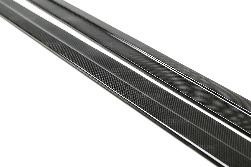 Seibon TR-Style Carbon Fiber Side Skirts 2016+ Honda Civic Sedan