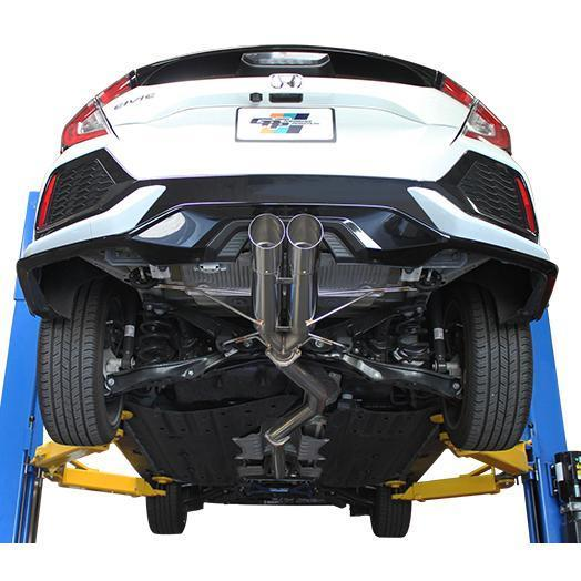 GReddy DD-R Catback Exhaust 2017+ Honda Civic Sport Hatchback FK7