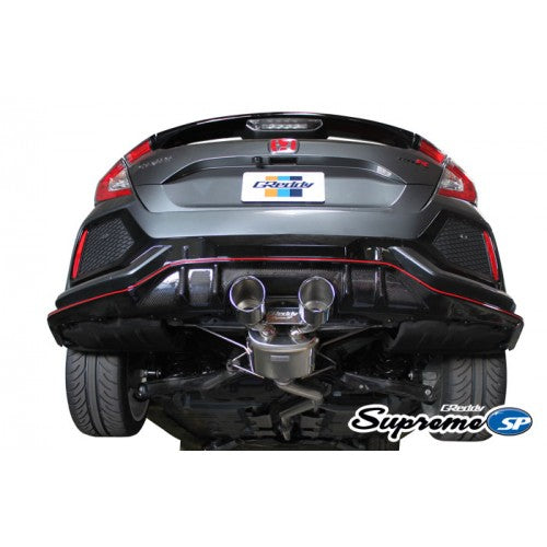 GReddy Supreme SP Cat Back Exhaust 2017+ Honda Civic Type R