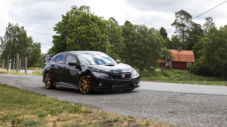 Ohlins Road & Track Coilovers 2017+ Honda Civic Type-R