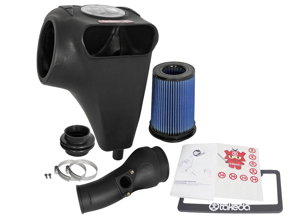 aFe POWER Takeda Momentum Cold Air Intake System w/Pro 5R Filter Media 2017+ Honda Civic Si