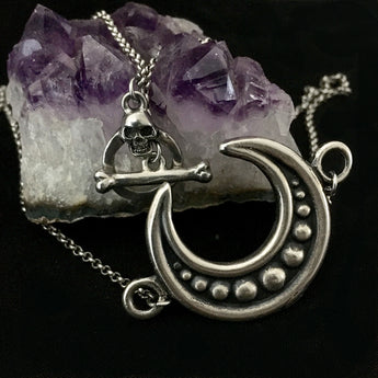 Lineage Crescent Moon Necklace
