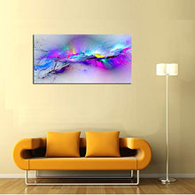 "Load image into Gallery viewer, DZL Art A72350 Canvas Wall Art Abstract Paintings Canvas Prints for Office Wall and Home Decor 20"" x 40"""