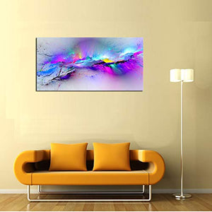 "DZL Art A72350 Canvas Wall Art Abstract Paintings Canvas Prints for Office Wall and Home Decor 20"" x 40"""