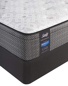 Sealy Response Performance 13-Inch Plush Eurotop Mattress, Queen, Made in USA, 10 Year Warranty